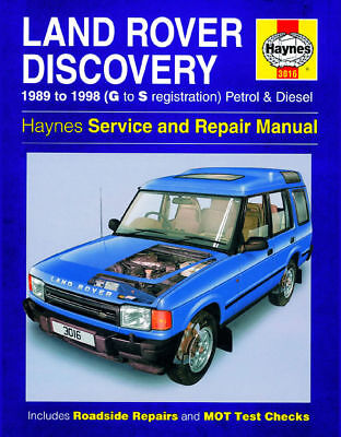 Haynes Workshop Repair Manual Land Rover Discovery