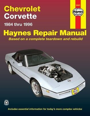 Repair Manual-Indianapolis 500 Pace Car Haynes fits 1984 Chevrolet Corvette