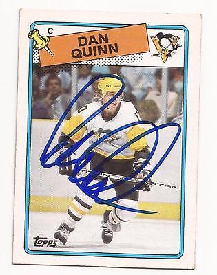 1988 89 Topps   41 Dan Quinn Autograph   Signed Card Psa Dna Pre Certified
