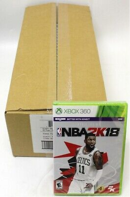 NBA 2K18 Xbox 360 Basketball NTSC US Edition Factory Sealed for sale  Shipping to India