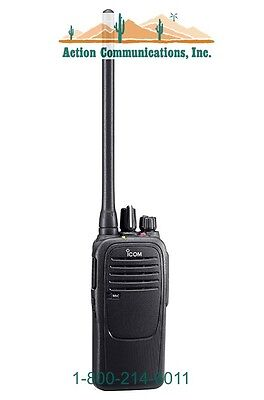New Icom Ic-f1000d-01 Vhf 136-174 Mhz 5 Watt16 Channel Two Way Radio
