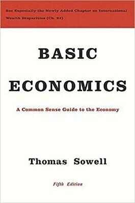 Basic Economics 5th Edition By Thomas Sowell