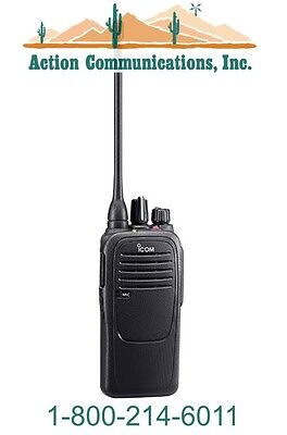 New Icom Ic-f2000-86 Uhf 400-470 Mhz 4 Watt 16 Channel Two Way Radio