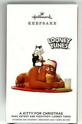 Kitty for Christmas Looney Tunes Marc Anthony Pussyfoot 2019 Hallmark Ornament  ()