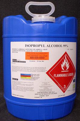 Isopropyl Alcohol 99.8 Pure High Grade - No Ups Hazmat Fee New 5 Gallon Pail