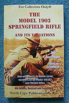 THE SPRINGFIELD 1903 RIFLE (Poyer) **BRAND NEW BOOKS**