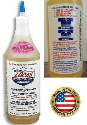 - Lucas Fuel Treatment Injector Cleaner Upper Cylinder Lubricant Diesel Gas Engine