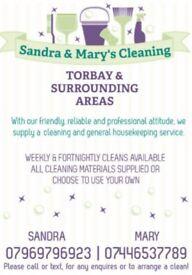 Sandra & Mary's Cleaning