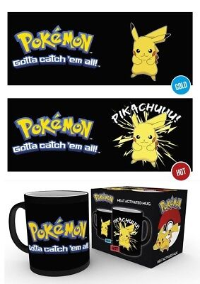 Pokémon Anime - Pikach Thunder Shock! - Officially Licensed Heat Mug