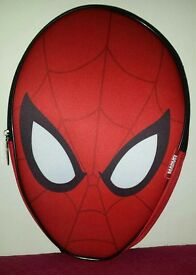 Brand new spiderman 3D head shaped backpacks