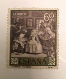 stamp Spain 1959 Meninas Velázquez