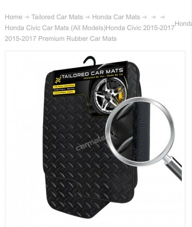 Honda mats