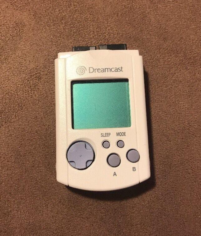 Official Sega Dreamcast VMU Virtual Memory Unit Card! Excellent! Authentic! LQQK