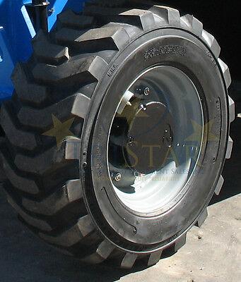 Genieterex 5519 12 - 16.5 Foam Filled Tires 10 Ply W Rim Exchange