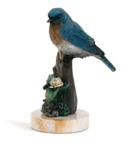 Big Sky Carvers Bluebird in Spring Sculpture 2017 Dennis Franzen