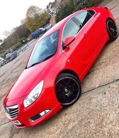 Vauxhall Insignia SRI VX-Line Limited Red 2.0