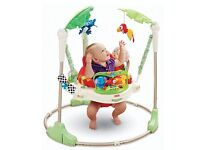 FISHER PRICE RAINFOREST JUMPEROO - EXCELLENT CONDITION WITH BOX+MANUAL
