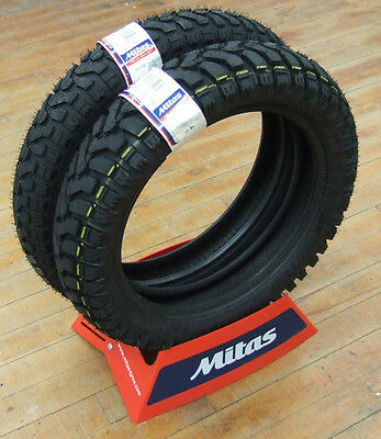 Mitas E-07 DAKAR Dual Sport PAIR Motorcycle Tires 110/80-19 150/70-17 BMW GS SET