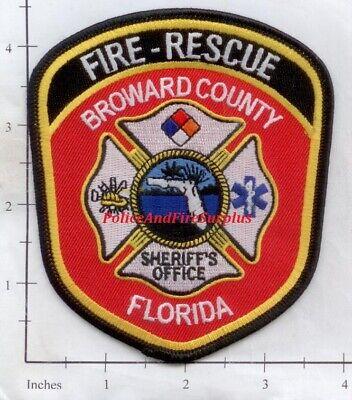 Florida - Broward County FL Fire Dept Patch   Fire Rescue