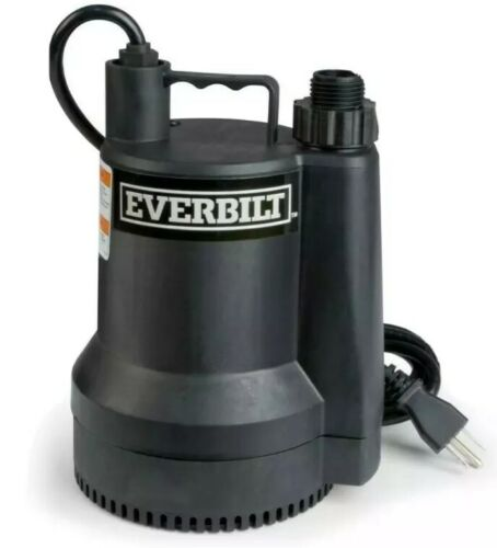 Everbilt Plastic Submersible Utility Sump Pump 1680 GPH SUP5