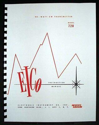 Eico 720 90-watt Cw Transmitter Manual