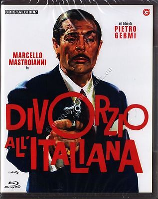 DIVORZIO ALL'ITALIANA (1961 Pietro Germi) Marcello Mastroianni BLU RAY DISC NUOV