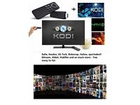 AMAZON FIRE TV STICK UNLOCKED/JAILBROKEN/UPGRADED KODI MOVIES TV SHOWS SPORTS