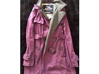 Ladies superdry coat medium