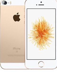iPhone SE 64 gb golden factory unlocked