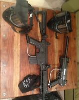 Paintball gear and accessories