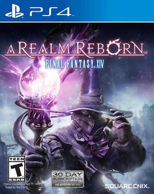 Square Enix Final Fantasy Xiv: A Realm Reborn Ps4 Playsta...