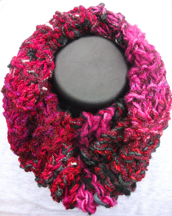 Chunky Textured Scarves