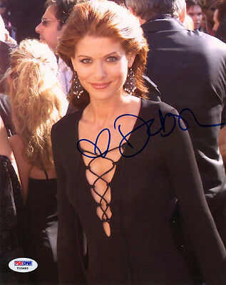 Debra Messing Signed Autographed 8X10 Photo Will   Grace Psa Dna