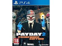 PS4 GAME / PAY DAY 2 CRIMEWAVE EDITION / CASH OR SWAPS