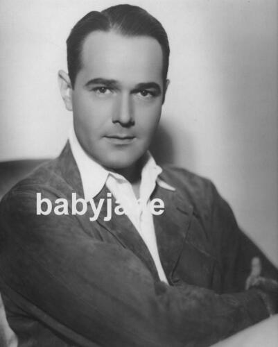 017 WILLIAM HAINES HANDSOME MGM PORTRAIT PHOTO