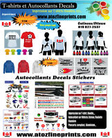 T-shirts & Decals Stickers