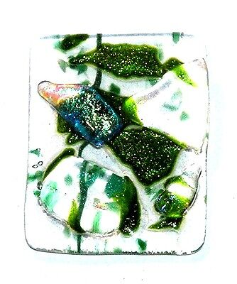 CABOCHON For Pendants or ? FUSED DICHROIC GLASS DK 510