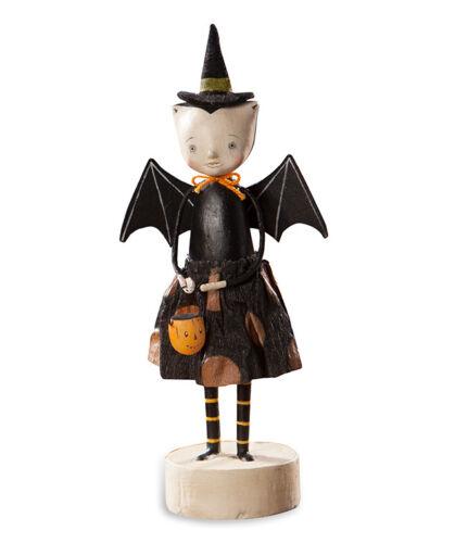 Going Batty Girl Vampire Bat Figurine  Bethany Lowe Halloween
