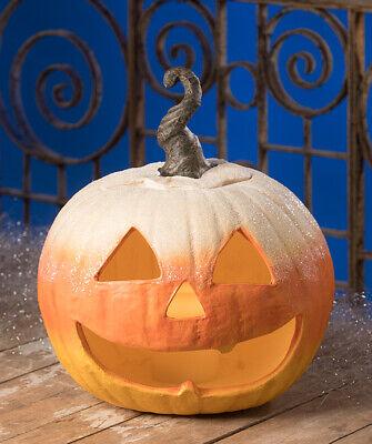Bethany Lowe - Halloween - Candy Corn Jack O Lantern Large - TL8723
