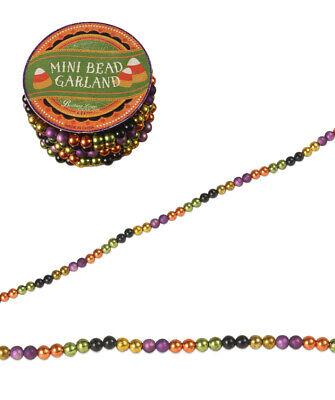 Bethany Lowe Designs Happy Halloween Mini Bead Garland