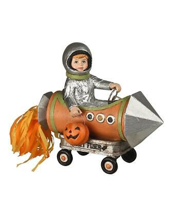 Little Kids In Halloween Costumes (Bethany Lowe LIttle Rocket Man Kids Trick or Treat in Costume Halloween)