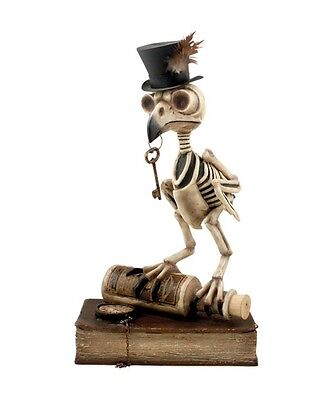 "Bethany Lowe Designs Halloween ""Grimoire Owl"" TD5036"