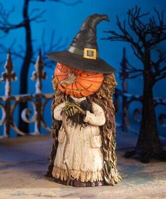 Bethany Lowe Halloween INTO THE WOODS WITCH Jack O Lantern Pumpkin SOLD OUT