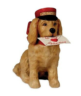 TD6001 Bethany Lowe Puppy Love Valentine's Day Figurine Dog Pet Best Friend