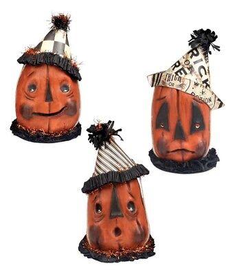 Bethany Lowe Sad Day Pumpkin Head Figurine - Halloween AUTHORIZED DEALER](Ma Halloween)