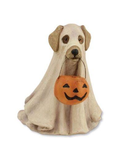 Bethany Lowe Halloween Spooky Ghost Dog Figurine  ~~  FREE SHIPPING ~~