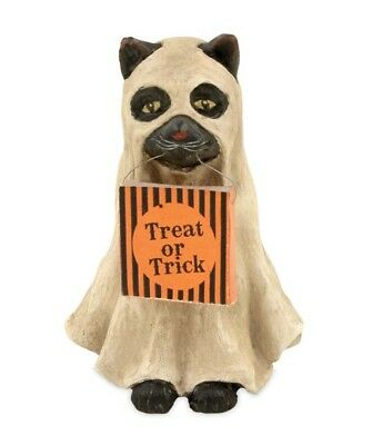 Bethany Lowe Halloween Ghost Cat  ~  FREE SHIPPING