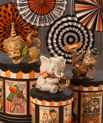 Halloween Big Top Animal Figurines - Retro Circus - Bethany Lowe - Halloween Animals