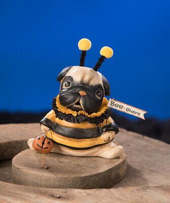 Bethany Lowe HALLOWEEN 2020 BEE-WARE PUP Pug MA9179 NEW