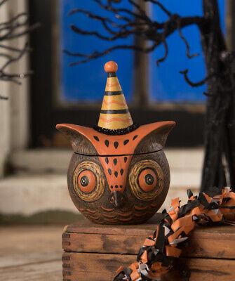 Bethany Lowe Halloween Spooky Owlfonzo Owl JP9242 New 2020